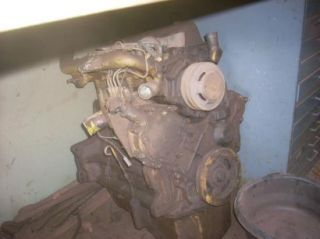 Rebuildable Diesel Engine Ford A62 Loader Tractor