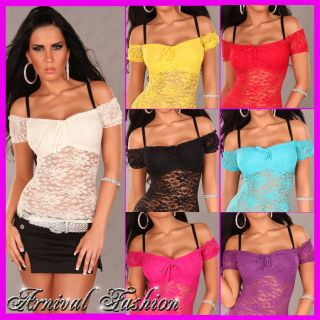 for Ladies Wear Womens Casual Blouses Lace Shirts for Women