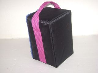 Black Pink CD Jewel Case Carry Storage Organizer 15 Holder Travel