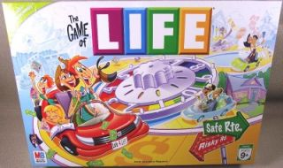 The Game of Life Board Game 2007 EX Cond 100 Complete