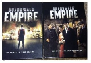 Boardwalk Empire Seasons 1 & 2 Complete First and Second Season DVD