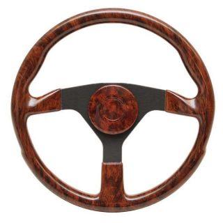 Standard 13 1 2 inch Cherrywood Boat Steering Wheel