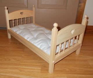 New Doll Bed For 18 American Girl