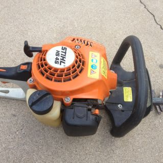 45 High Performance Gas Powered Hedger Hedge Trimmer 24 Blade