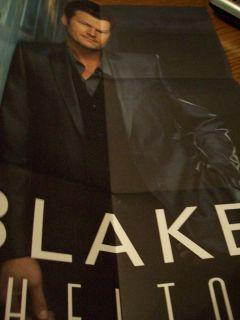 Blake Shelton 2011 CMA Award Voter Request Poster