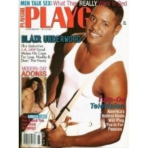 playgirl magazine july 1996 blair underwood mint