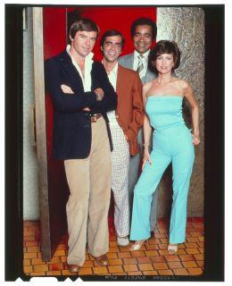 Phyllis Davis Robert Urich Vegas RARE Orig 4x5 Trans