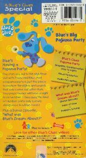 Blues Clues Blues Big Pajama Party VHS