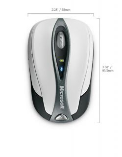 Microsoft Bluetooth Notebook Laser Mouse 5000 69R 00001