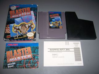 Blaster Master Complete Nintendo NES Box Manual Game