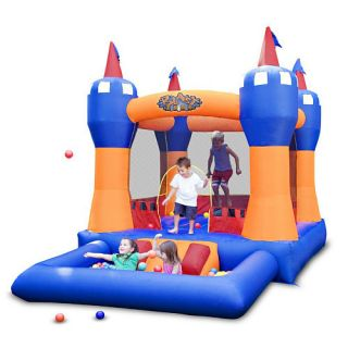 Blast Zone Ball Kingdom Bounce House and Ball Pit