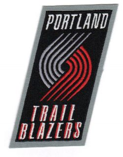 Portland Trail Blazers Primary Team Logo Jersey NBA Official