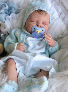 Reborn Doll Baby Boy Bligh Adrie Stoetes Teddy Limited Edition