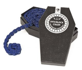 Interlock Half Link BMX Bike Bicycle Chain Fit Perma Blue New