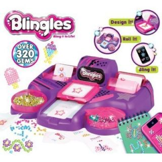 NEW Blingles Bling Studio Kids Craft Kit Personalize Design Sparkle