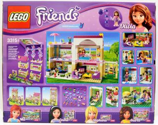 Lego Friends 3315 Olivias House Brand New Set  695 Pcs 3