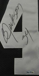 Bo Jackson UDA Autographed Signed Oakland Raiders Black Jersey 64 133