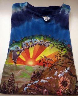 Bob Weir RATDOG Tour 2006 Shirt Hand Dyed Sz L Large Grateful Dead