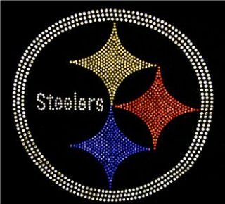 Pittsburgh Steelers Bling Womens Studded Tank Top SM 3X