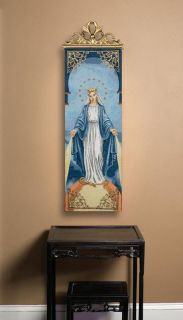 BLESSED MOTHER ~ MARY Tapestry Wall Hanging Panel