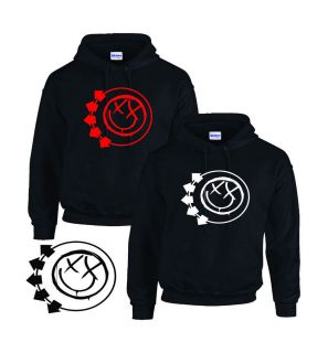 Blink 182 BLINK182 Hoodie Hooded Top All Sizes s XXL Black or Red