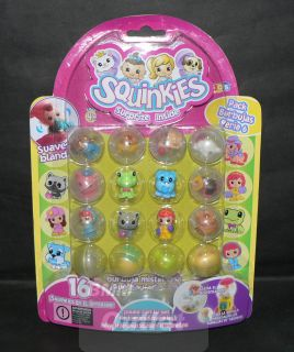 Blip Toys Squinkies Series 6 Bubble Pack 16 Squinkie Characters 16