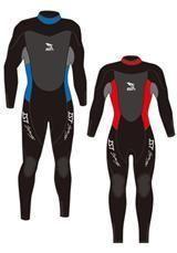 Wet Suit Mens 1758 Brownies Third Lung Dealer, Hookah Diving, Scuba