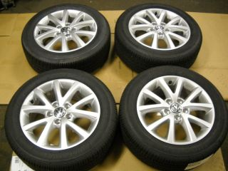 VW 16 Rims and Tires Jetta Rabbit Sedona Wheel Mag Alloy 05 12 New