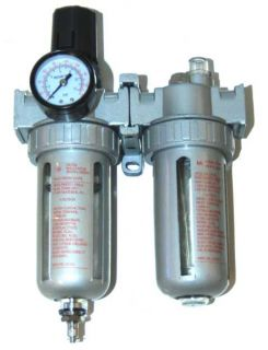 Air Compressor Moisture Trap Filter Pressure Regulator