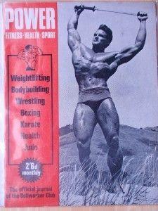 Power Bodybuilding Muscle Magazine Steve Reeves Vol1 9