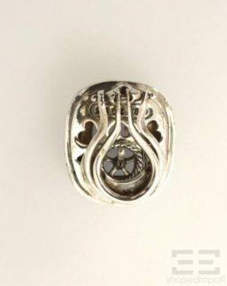 Sterling Silver 18K Gold Blue Chalcedony Diamond Post Earrings