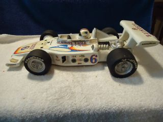 Lionstone 1973 Bobby Unser Indy Race Car Decanter