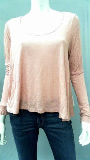 Blue Life Misses M Shirt Top Pink Lace Long Sleeve Blouse Designer