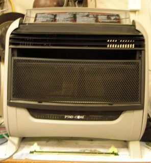 Pro com Blue Flame Gas Heater with Stand 30 000 BTU Unit Gently Used