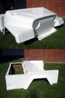 Front Rear Body Cowl Jeep Custom Club Car DS Golf Cart