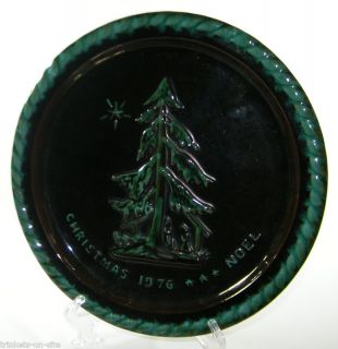 1976 Blue Mountain Pottery Christmas Plate