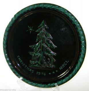1976 Blue Mountain Pottery Christmas Plate