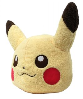 New Pokemon I Love Pikachu Banpresto Giant Face Plush 17 Pikachu