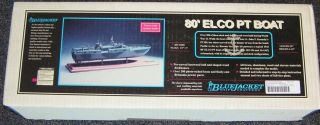 Bluejacket Ship Crafters 1/4 Scale 80 Elco PT Boat Kit # 1005