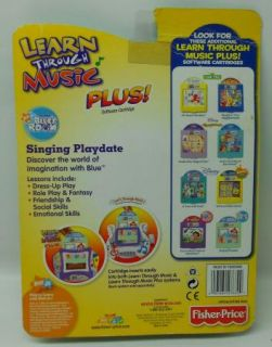 New Learn Through Music Plus Blues Clues Room Singing Palydate