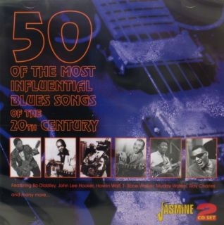 50 of The Most Influential Blues Songs of The 20th Century 2CD Set on