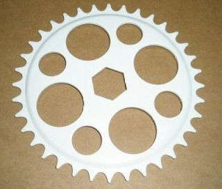 New White Youth Junior BMX Bicycle Chain Ring Parts 365