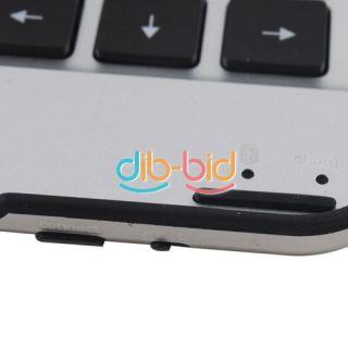New Wireless Bluetooth Keyboard Aluminum Case for Samsung Galaxy Tab10