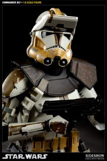 body with 30 points of articulation commander bly portrait fabric