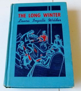 WINTER Laura Ingalls Wilder Little House Cadmus HC Book Sewell Ill