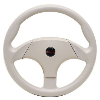 Dino 13 3 4 in Titanium Boat Steering Wheel w Hub