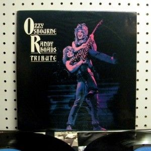 Ozzy Osbourne   Tribute (1987) Vinyl 2 LP ~ Near Mint NM ~ RANDY