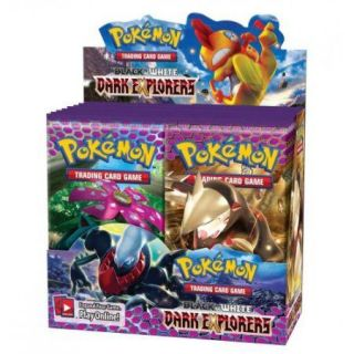 Black White Dark Explorers Booster Box Pokemon New Pokemon