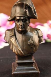 Napoleon Bonaparte French Bronze Bust Sculpture France Freedom Leader