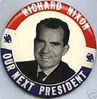 Campaign Pin Pinback Button Political Barry Goldwater